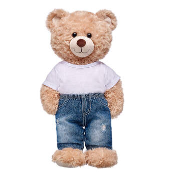 Distressed Denim Pants - Build-A-Bear Workshop®
