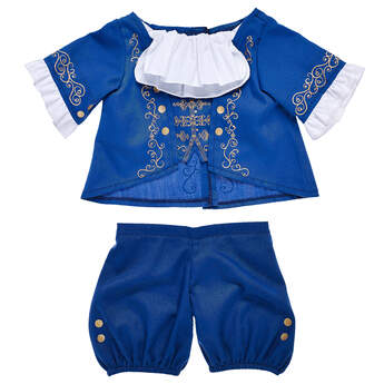 """Inspired by the iconic ballroom dance sequence of Disney's live-action movie, """"Beauty and the Beast"""" fans will be delighted with this ballroom outfit set."""