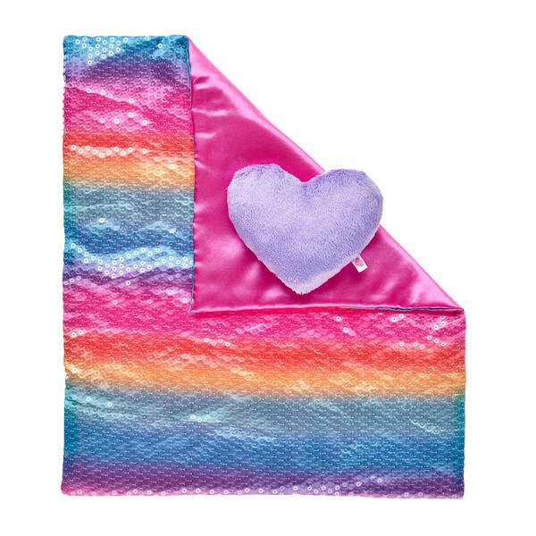Rainbow Sequins Bedding 2 pc. - Build-A-Bear Workshop®