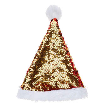 Flip Sequins Santa Hat - Build-A-Bear Workshop®