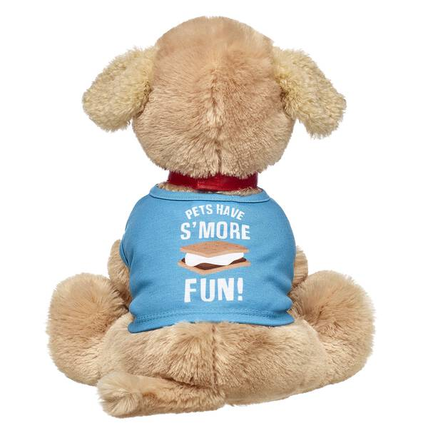 Treat yourself! Whether you're camping with your furry friend or just making s'mores in the backyard together, this hilarious T-shirt is a fun addition to your four-legged friend's collection! Personlize a furry friend to make the perfect gift. Shop online or visit a store near you!