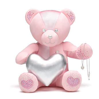 Online Exclusive From the Heart Build-A-Bear Collectible Dazzling with Swarovski® crystals - Deluxe Gift Set, , hi-res