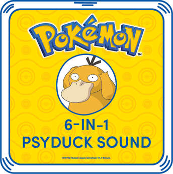 6-in-1 Psyduck Sound - Build-A-Bear Workshop®