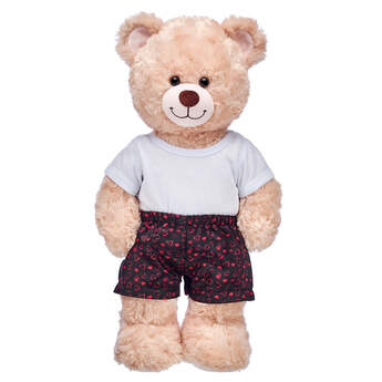 Black Heart Satin Boxers - Build-A-Bear Workshop®