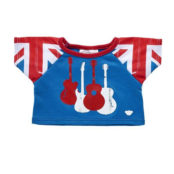 Union Jack Guitar T-Shirt, , hi-res