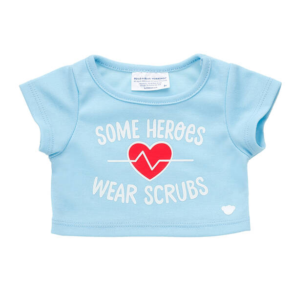 Online Exclusive Heroes Wear Scrubs T-Shirt - Build-A-Bear Workshop®