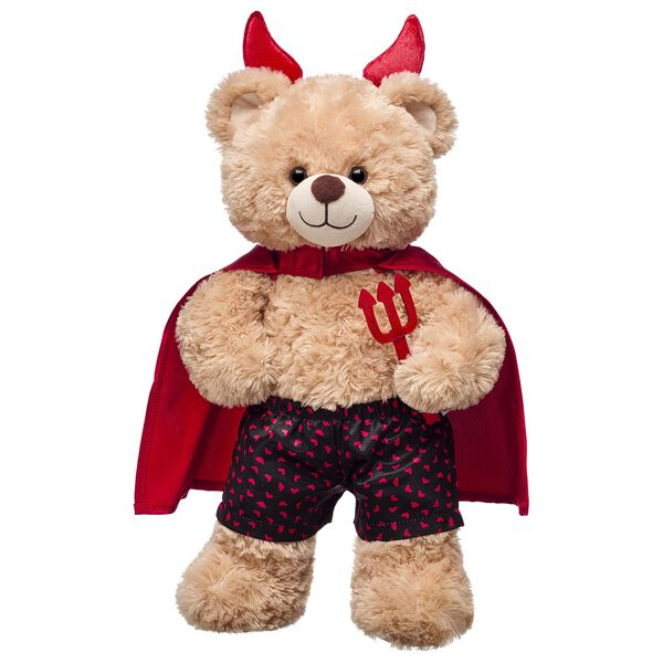 Online Exclusive Devilishly Cute Happy Hugs Teddy Gift Set, , hi-res