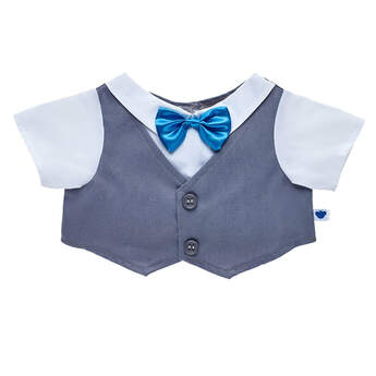 Vest & Bow Tie Top - Build-A-Bear Workshop®