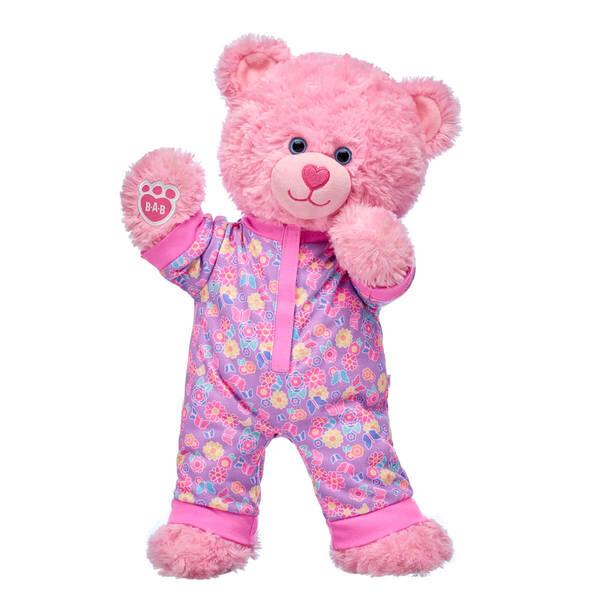 Pink Cuddles Teddy Floral Sleeper Gift Set, , hi-res
