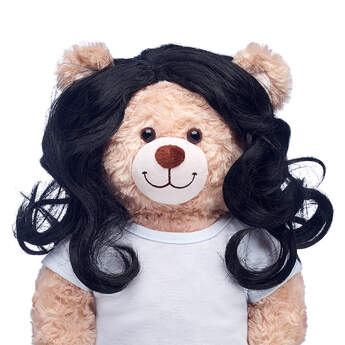 Curly Black Wig - Build-A-Bear Workshop®