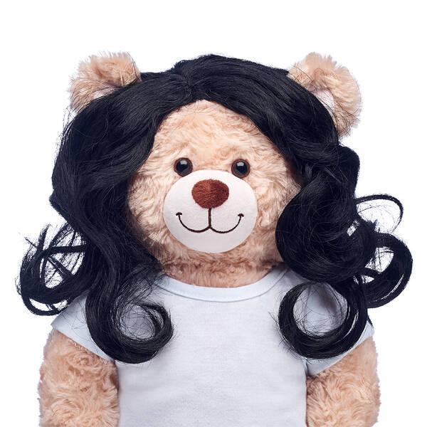 Curly Black Wig - Build-A-Bear Workshop®