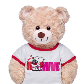 Online Exclusive Peanuts® Valentine's Day T-Shirt - Build-A-Bear Workshop®