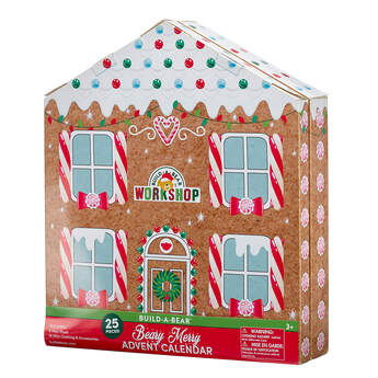 Online Exclusive Beary Merry Advent Calendar - Includes 25 Pieces - Build-A-Bear Workshop®