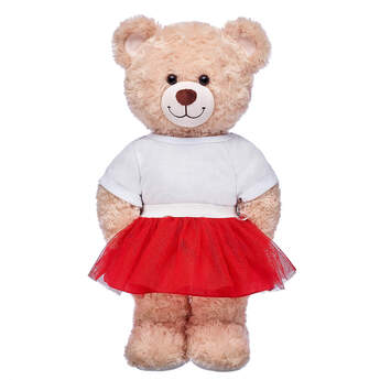 Sparkly Red Tutu - Build-A-Bear Workshop®