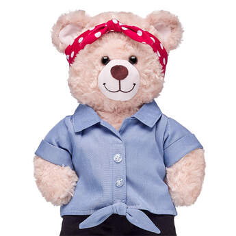 Online Exclusive Rosie the Riveter Outfit - Build-A-Bear Workshop®