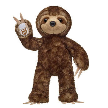 Online Exclusive Brown Sloth - Build-A-Bear Workshop®