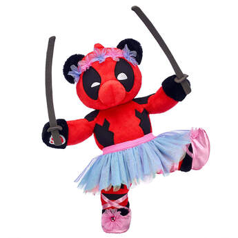 Online Exclusive Build-A-Bear as Deadpool Ballerina Gift Set, , hi-res