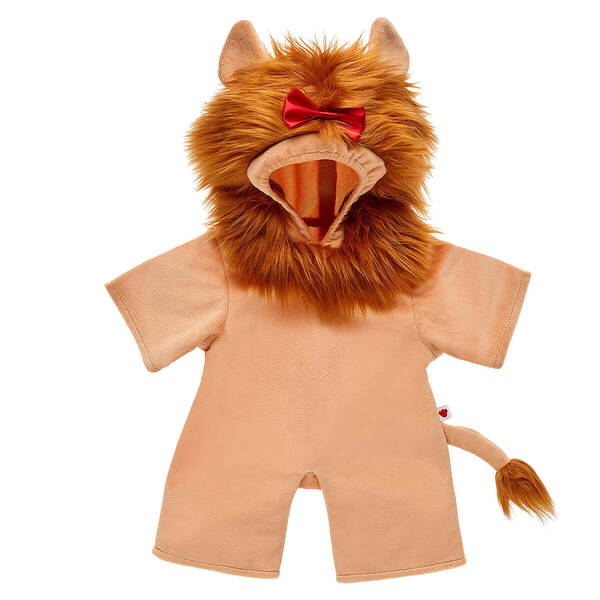 Online Exclusive The Wizard of Oz™ Cowardly Lion™ Costume - Build-A-Bear Workshop®