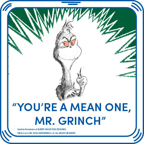 """You're A Mean One, Mr. Grinch"" Sound, , hi-res"