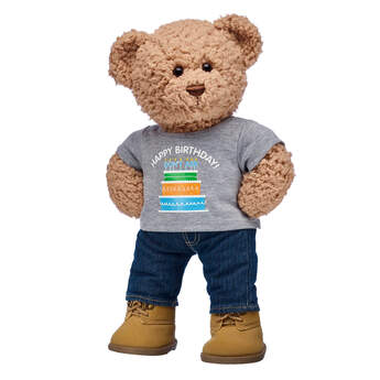 Online Exclusive Timeless Teddy Birthday Gift Set, , hi-res