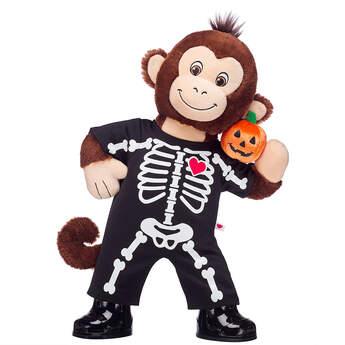 Smiley Monkey Skeleton Halloween Gift Set, , hi-res