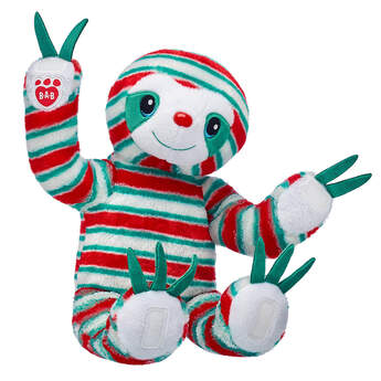 Peppermint Twist Sloth - Build-A-Bear Workshop®