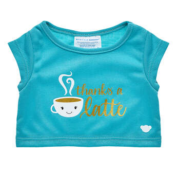 Thanks A Latte T-Shirt - Build-A-Bear Workshop®