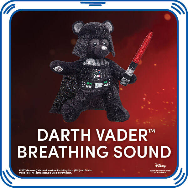 Darth Vader Sound - Build-A-Bear Workshop®
