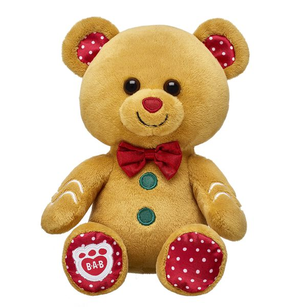 Build-A-Bear Buddies™ Gingerbread Bear, , hi-res