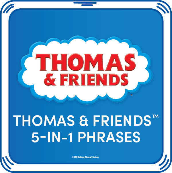 Peep peep! Add this Thomas & Friends™ 5-in-1 Phrases sound chip to your furry friend! You'll hear the cheerful voice of the most famous tank engine in the world with every press of the paw. © 2018 Gullane (Thomas) Limited.