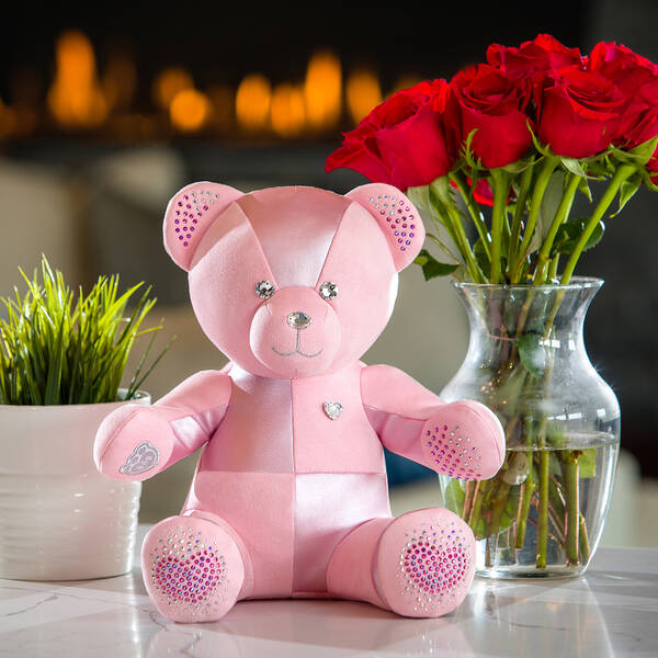 Online Exclusive From the Heart Build-A-Bear Collectible Dazzling with Swarovski® crystals - Build-A-Bear Workshop®