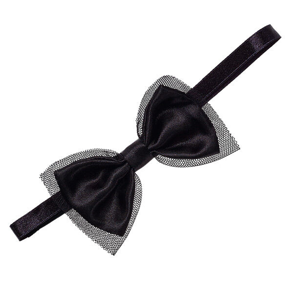 Complete your Honey Girls look with a Black Bow Headband. This stylish black  satin headband 37a640fee55