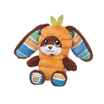 Build-A-Bear Buddies™ Chocolate Stripes Bunny Carrot Gift Set, , hi-res