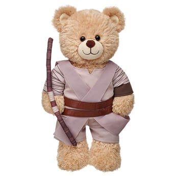 Gear up for Star Wars: The Force Awakens with a Rey™ Costume for your furry friend. This three piece costume includes a tan top and bottom with belt and a staff. © &™ Lucasfilm Ltd.
