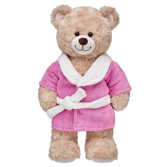 4f94bb0dc ... bathrobe Pink & White Robe, ...