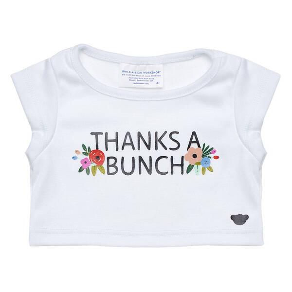 Online Exclusive Thanks a Bunch T-Shirt - Build-A-Bear Workshop®