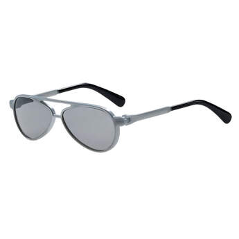 Add this pair of teddy bear sized Aviator Sunglasses to your favourite furry friend's outfit. These aviator sunglasses have a silver frame. Your furry friend will be flying in style with these sunglasses.
