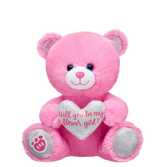 Online Exclusive 25cm Pre-Stuffed Flower Girl Bear - Build-A-Bear Workshop®