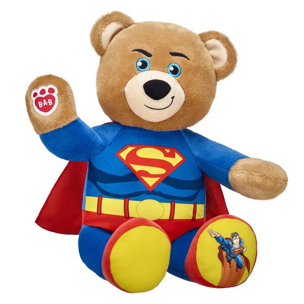 Teddy bears make your own teddy bear build a bear online exclusive supermantrade bear hi res voltagebd Image collections