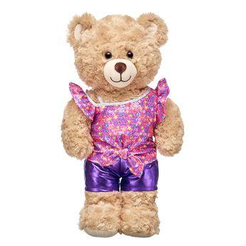 Honey Girls Neon Sparkle Shorts Set 2 pc., , hi-res