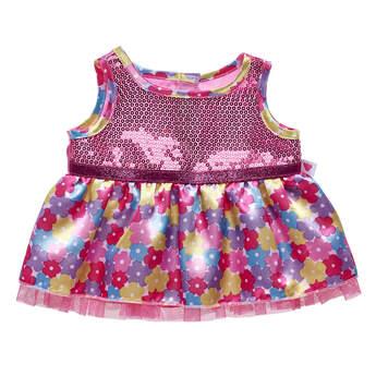 Floral Sequin Dress - Build-A-Bear Workshop®