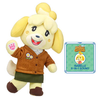 Animal Crossing™: New Horizons Isabelle Winter Gift Bundle with Phrases, , hi-res