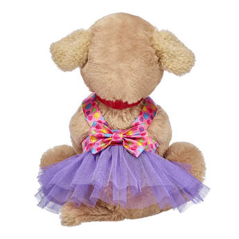 Promise Pets™  Rainbow Paw Print Dress - Build-A-Bear Workshop®