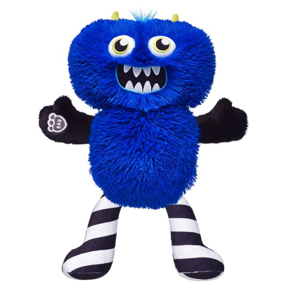 """Outrageous and original – just like you! This stuffed animal gift set entered the Monster Mixters L.A.B. and emerged with black and white striped Legs, black Arms and a bright blue Body. This cuddly gift set provides hours of monstrous fun for monster makers of all ages! <p>Price includes:</p>  <ul>    <li>Monster Mixters Blue Body</li>     <li>Monster Mixters Black Arms</li>    <li>Monster Mixters Black & White Legs</li> </ul>"""