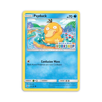 Build-A-Bear Workshop Exclusive Psyduck Pokémon TCG Card - Build-A-Bear Workshop®