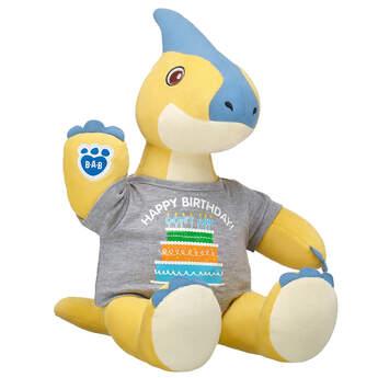 Online Exclusive Yellow Parasaur Birthday Gift Set, , hi-res
