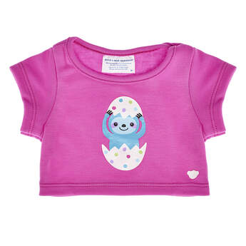 Online Exclusive Sloth Easter Egg T-Shirt - Build-A-Bear Workshop®