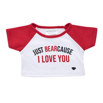 Online Exclusive Just BEARcause T-Shirt - Build-A-Bear Workshop®