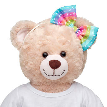 Online Exclusive Rainbow Sprinkle Bow Headband - Build-A-Bear Workshop®