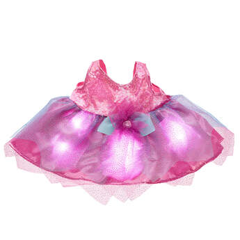 Pink Light-Up Fairy Dress - Build-A-Bear Workshop®